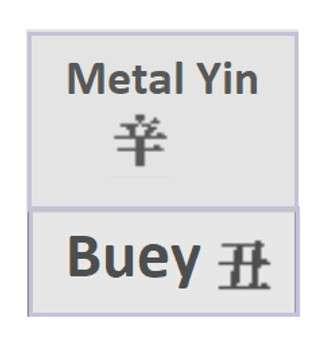 Binomio Buey de metal